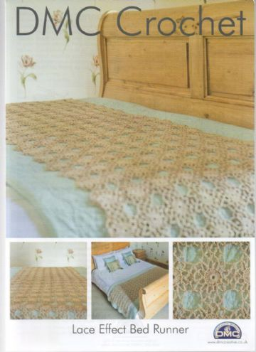 Lace Effect Bed Runner Crochet Pattern from DMC
